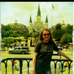 Not sure who this is, but I love the view of Jackson Square before it was overtaken!