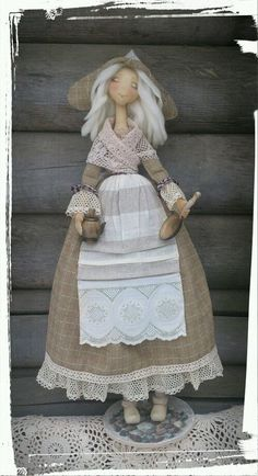 куклы авторские Cute Crafts, Diy Crafts, Bear Art, Waldorf Dolls, Knitted Dolls, Soft Dolls, Fabric Dolls, Beautiful Dolls, Making Ideas