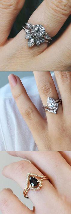 unique engagement rings for lovley brides #UniqueEngagementRings