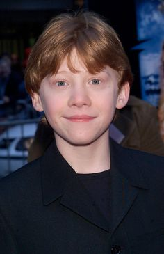 """Rupert Grint (Ron Weasley) 