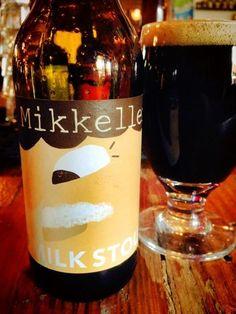 Cerveja Mikkeller Milk Stout, estilo Sweet Stout, produzida por Mikkeller, Dinamarca. 6% ABV de álcool.