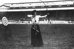 Imagine a time when women wore dresses for the high jump, and tug of war was an Olympic event. Welcome to 1908.