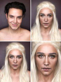 Ce make-up artist se transforme en filles de Game of Thrones : Daenerys