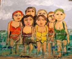 Beach Ladies by tex norman