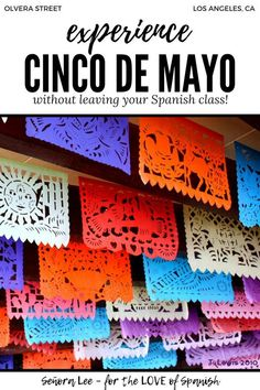 Cinco de Mayo Activities for Spanish Class