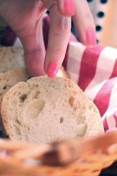 Free stock photo of bread, breakfast, baguette, sliced