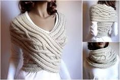 Image result for free cowl knitting patterns