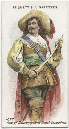 Arms & Armour - 35 - A cavalier - 1627. Time of Buckingham's French Expedition.