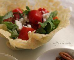 How to Make a Parmesan Bowl | Crafts a la mode