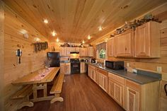 "Enjoy a delicious meal in this dine-in kitchen at ""Hold Yer Horses."""