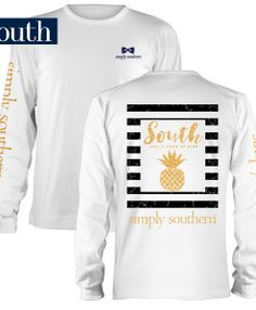 Simply Southern Youth Prep Pine Long Sleeve T-shirt