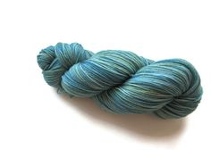Hand Dyed Sock Yarn in the Dried Sage by flickertailfibers on Etsy, $20.00