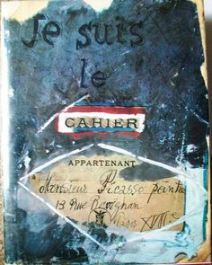 Je suis le cahier (I am the notebook): The Sketchbooks of Picasso Artist Journal, Artist Sketchbook, Journal Pages, Portal Do Professor, Doodle, Handmade Books, Art Journal Inspiration, Pablo Picasso, Altered Books