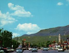 Heber City, Main Street looking north. 1950's.