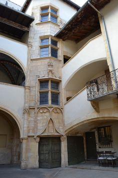 Traboules - Lyon Ville France, Lyon France, Hidden Passageways, Medieval, Romance, Silk, Mansions, Architecture, House Styles