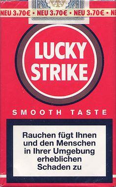 Flyer Goodness: Vintage Lucky Strike Cigarette Packaging