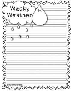 Mrs. Heeren's Happenings: Wacky Weather Stories - Cloudy With a Chance of Meatballs