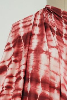 Red Sky At Morning Shibori Bamboo Knit