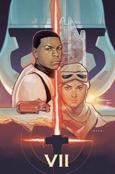 Star Wars 7 Art | The Force Awakens