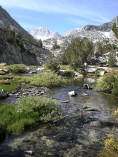 John Muir Wilderness area, Eastern Sierra Nevada Mountains, CA
