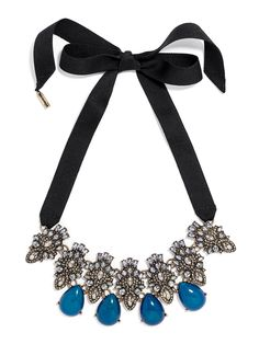 Beautiful jasmine ribbon necklace http://rstyle.me/~3WpQz