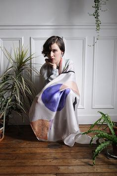 Calder  Hortus collection FW12  photo: Maxime Ballesteros  Model: Luna Maria Cedron
