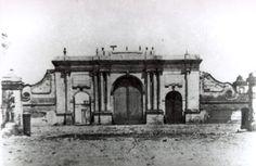 [Callao, Siglo XIX : portada de entrada a Lima] [fotografía]