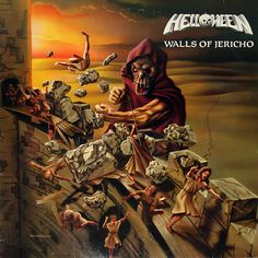 Helloween, Walls of Jericho****: I'm not as familiar with Helloween as I probably should be. Overall, power metal kind of escaped my review over the years. I am, however, quite pleased with this album. There's a thrashier element to it that makes this a rollicking good time. So much so, i had to go ahead and order this on vinyl along with a couple other albums by the band. 7/27/17