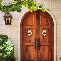 Classic Ring Door Knockers - Brass Door Knocker