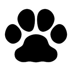 cat paw print silhouette clip art download free versions of the rh pinterest com free cat paw print clipart cat paw prints clip art black & white