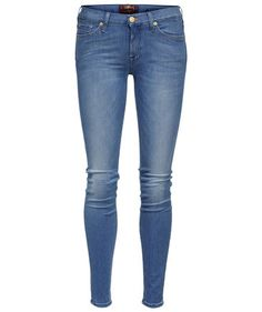 "Damen Jeans ""The Skinny Silk Touch Bright Blue"""