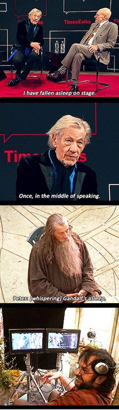 Funny pictures about Gandalf the Sleepy. Oh, and cool pics about Gandalf the Sleepy. Also, Gandalf the Sleepy. Legolas, Thranduil, Funny Love, The Funny, Martin Freeman, Funny Memes, Hilarious, Funny Quotes, Funny Gifs