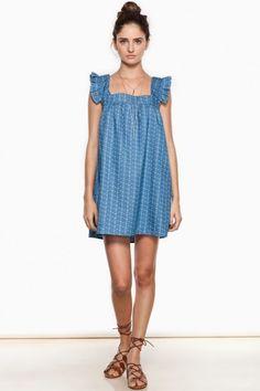 Charming Ruffled Dress