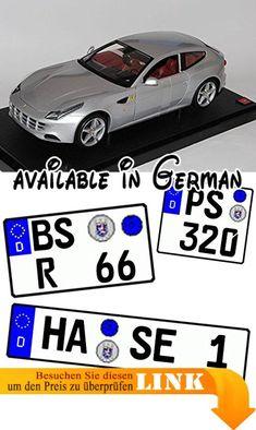 B00B32UEA0 : Ferrari FF Coupe Silber Ab 2011 1/18 Mattel Hot Wheels Modell Auto mit individiuellem Wunschkennzeichen. INKUSIVE WUNSCHKENNZEICHEN: Das Fahrzeug wird mit IHREM individuellem Wunschkennzeichen geliefert! <br />Die Kennzeichen sind selbstklebend - also einfach auf die gewünschte Größe ausschneiden und die Folie hinten abziehen. <br />___die Nachfrage des Kennzeichens erfolgt - AUTOMATISCH innerhalb 1 Werktag - bitte vorher KEINE Nachricht senden___. Modell