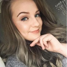 @sophhamilton Thanks for sharing this fantastic result from our Metallic-Glory Graphite Grey shade #greyhair #greyhairdontcare #balayage #balayageombre #silverhair #silvergrey #metallichair #hairstyles #makeup #fashion #MetallicObsession