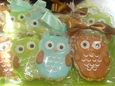 Owl baby shower party-ideas