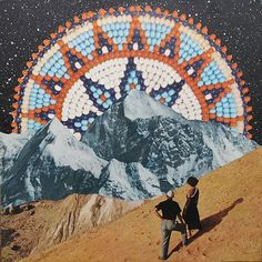 Surreal Collage Compositions   Beth Hoeckel inspiration