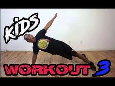 Kids Workout 3 - YouTube Kids Workout, Exercise For Kids, Men Exercise, Workout Men, Art Activities For Kids, Physical Activities, Motor Activities, Elementary Physical Education, Elementary Schools