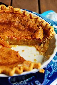 Brown Sugar Chess Pie | Grandbaby Cakes
