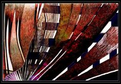 "Saatchi Art Artist גדעון שפיגל; New Media, ""Abstract-23 - Limited Edition 1 of 1"" #art"