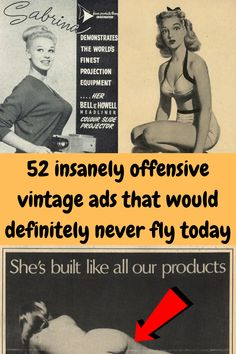 """As a woman, it's empowering to see an increasing number of strong, independent women who are able to pursue their dreams, stand up for themselves, and of course not to be reliant on men. History has not been so kind to women since society and sadly, other women believe that this is a """"man's world"""". This is evident in these vintage ads that were rampantly displayed everywhere starting from around the 1920s until a little over the '70s. Wtf Funny, Funny Memes, Online Shopping Fails, Grey Hair Transformation, Broken Home, Tattoo Fails, Disney Princess Pictures, Perfume, Bored Panda"""