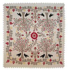 Pennsylvania appliqué quilt, 19th c.