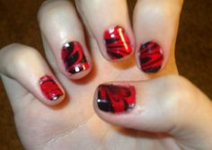 Charming Nail Art  For more latest images visit http://naildesignsidea.net/10-latest-nail-art-designs-2014/