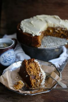 Chamomile Honey Oat Cake ~ Daisy and the Fox