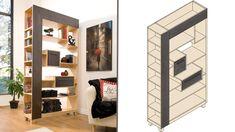 Ce meuble possède la beauté du bois massif tout en présentant une conception accessible à tous les amateurs.