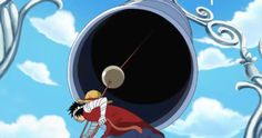 Luffy rings the Ox Bell 16 times...