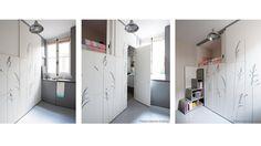 Studio Kitoko - Aménagement d'un studio de 8m² à Paris