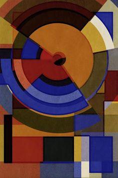 Hertz Van Bauhaus ONE, Geometric Abstracts, 2016, Limited Editions of 6 & 20 - Big Fat Arts | BFA Gallery | Czar Catstick - 1