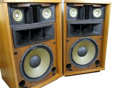 I'd like to find some HUGE old vintage speakers to top with glass and use as a coffee table.
