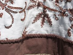detail - Alabama Chanin inspired swing jacket by Regina Moore, via Flickr